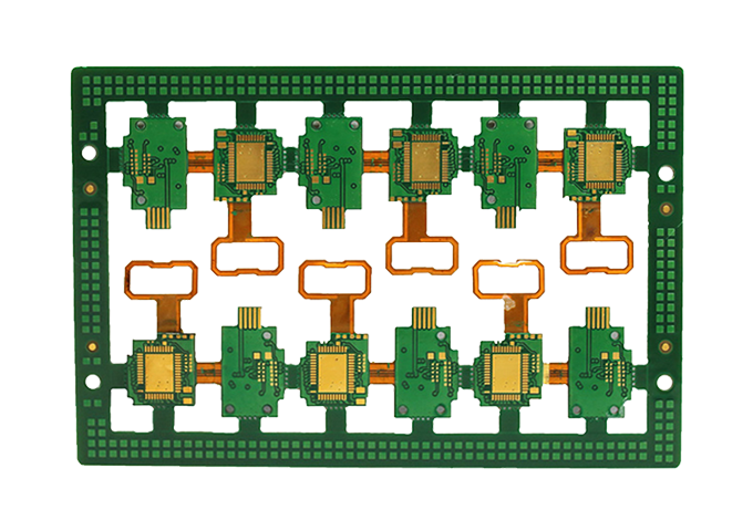 4 layer Rigid Flexible PCB插图